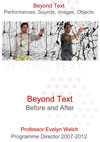 Beyond Text - Final Festival Report - March 2012